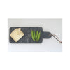 Black Marble Serving Board with Cheese