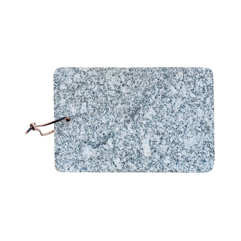 Granite Cheese Board with Leather Tie
