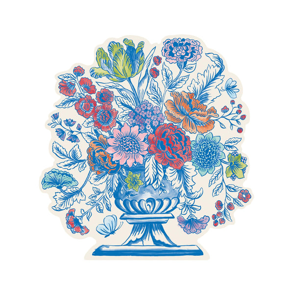 Die Cut Jardiniere Paper Placemats - Set of 12