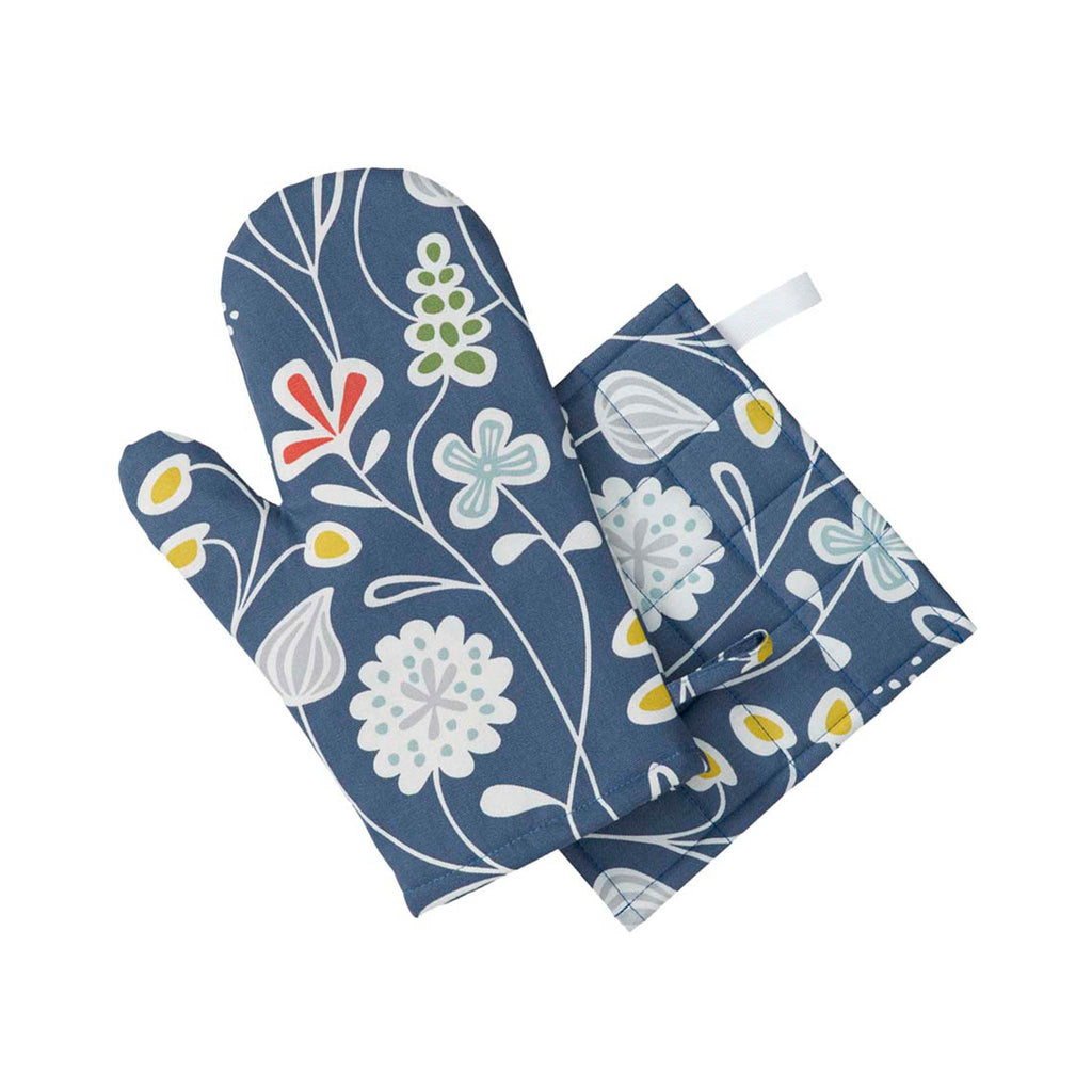 Swedish Design Oven Glove - Flower Meadow