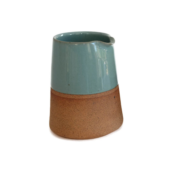 Terracotta Clay Tapered Jug - Blue