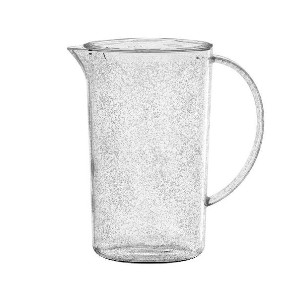 Fizz Clear Lidded Pitcher