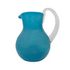 Mexican Handblown Glass Pitcher