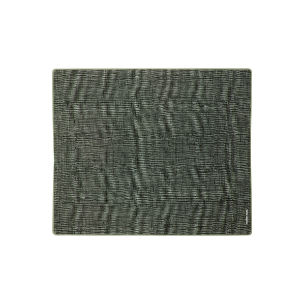 Modern Twist Silicone Placemats - Black Linen