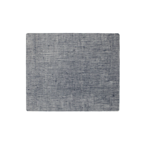 Modern Twist Silicone Placemat - Denim Linen