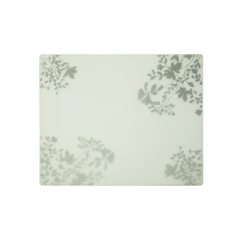 Modern Twist Silicone Placemats - Silver Jardin