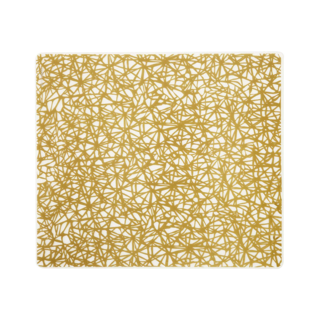 Modern Twist Silicone Placemat - Gold Twine