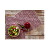 Modern Twist Silicone Placemat - Rose Twine lifestyle