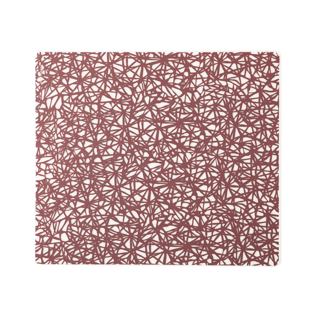 Modern Twist Silicone Placemat - Rose Twine