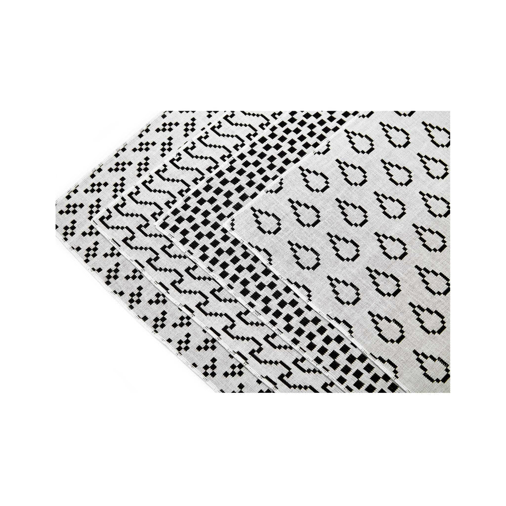 Bitmap Placemats Set of 4 - White Side