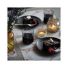 Modern Twist Silicone Placemat - Marble Brick on table