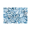 Blue Burst Paper Placemat Pad