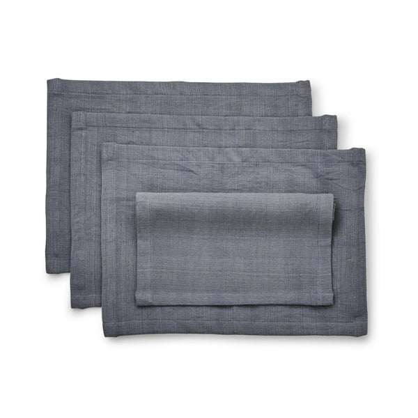 Hand-woven Cotton Placemat Set of 4- Aroma