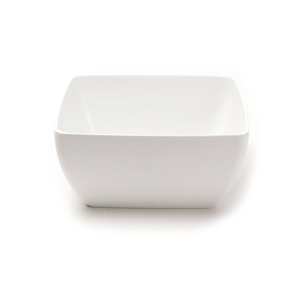 Diamond White Serving Bowl