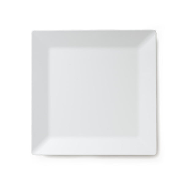 Diamond White Melamine Serving Platter - Square