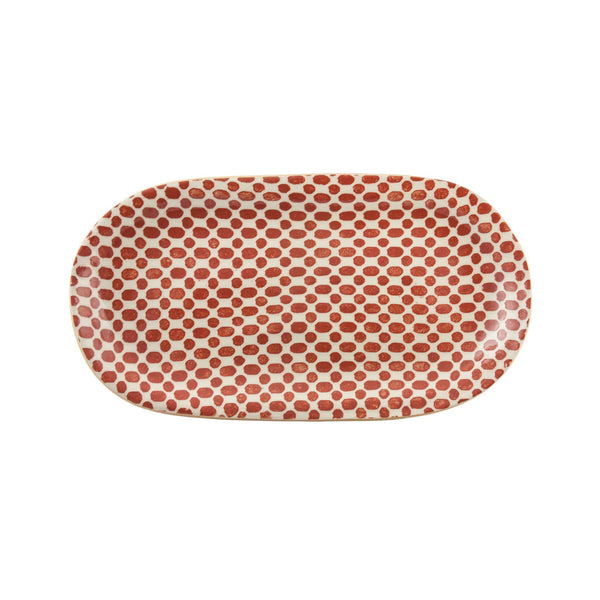Dot Poppy Fish Platter - Small