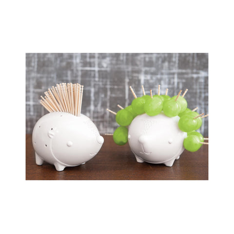 Hedgehog Ceramic Toothpick Holder