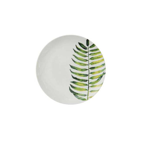 Botanical Salad Plate - Fern Leaf