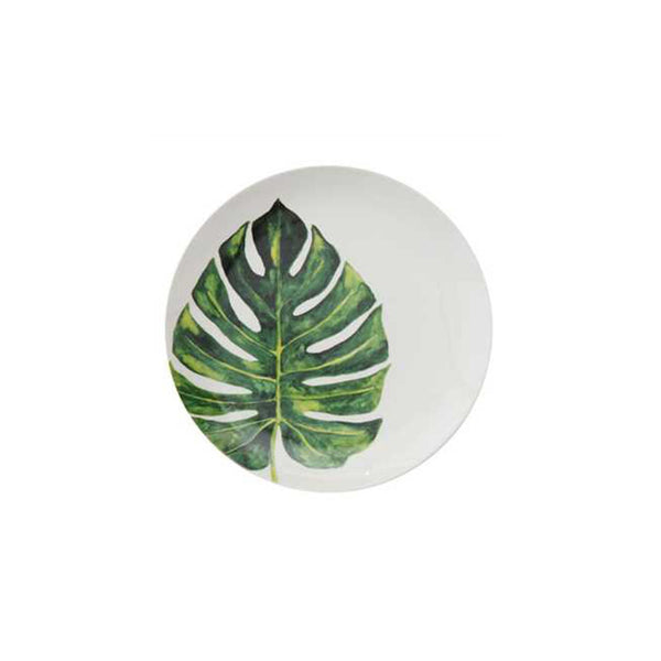 Botanical Salad Plate - Palm Frond