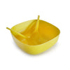 BIOBU Gusto Salad Bowl - Lemon with Servers