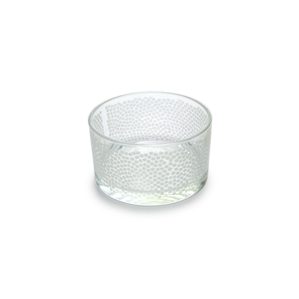 Paola Navone Dottino Ice White Nut Bowl