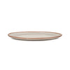 QSquared Terracotta Melamine Oval Platter - Side View