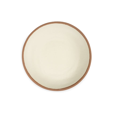 QSquared Terracotta Melamine Dinner Plate