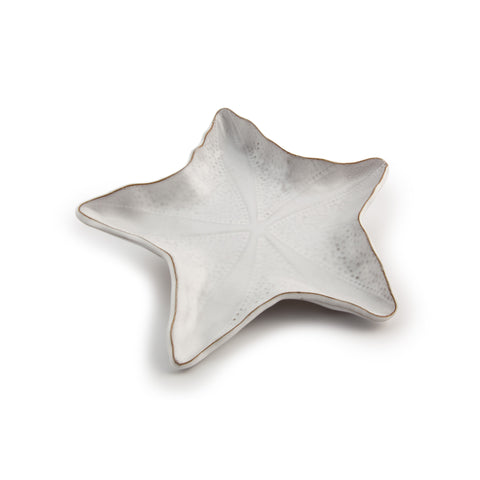Kate McGuire Starfish Plate - Medium White