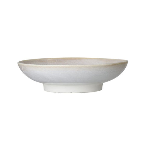 Reactive Glaze Stoneware Serving Bowl