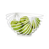 Eclipse Rib Fruit Basket - White