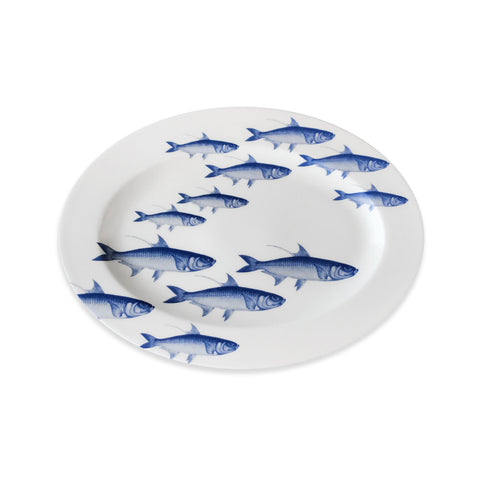 School of Fish Oval Platter