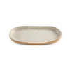 Terrafirma Ceramics Dot Opal Canape Tray - Small