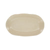 Quantum Oblong Platter - Alabaster - Top view