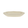 Quantum Oblong Platter - Alabaster - Side view
