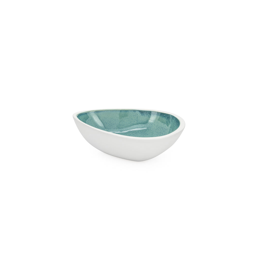 Antilles Reactive Glaze Teardrop Bowl - Small