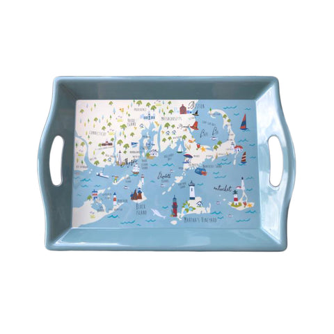 Northern Shores Melamine Serving Tray