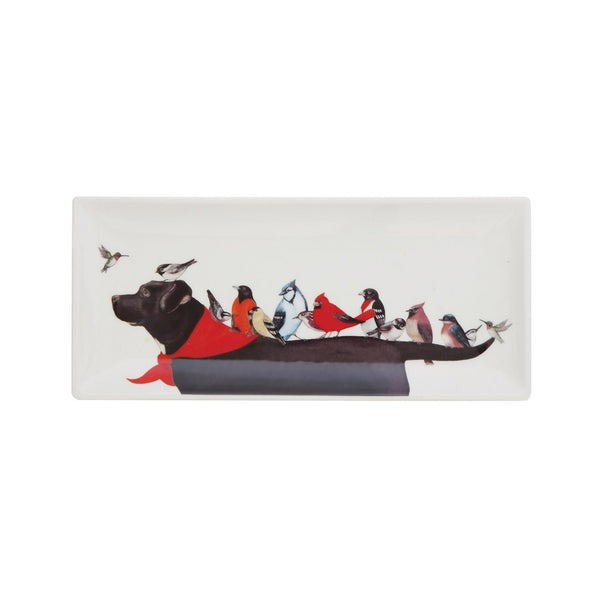 Bird Dog Serving Platter