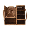 Rattan Outdoor Entertaining Caddy - top view