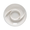 Casafina Modern Chip & Dip - White- top view
