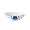 Blue Lucy Octopus Wide Serving Bowl - side view