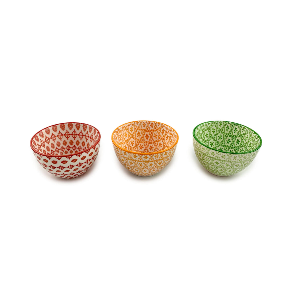 Patterned Mini Bowls
