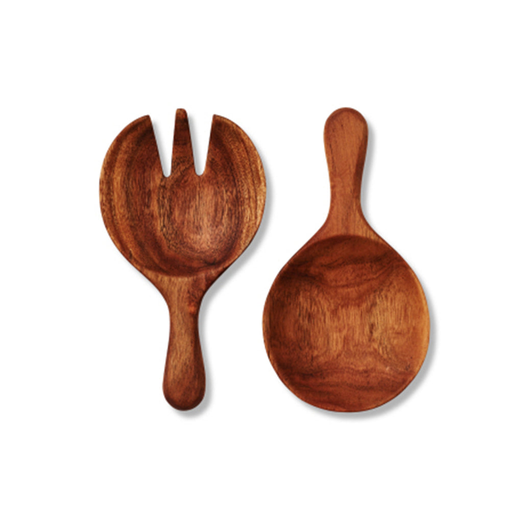 Acacia Large Salad Paddles Set