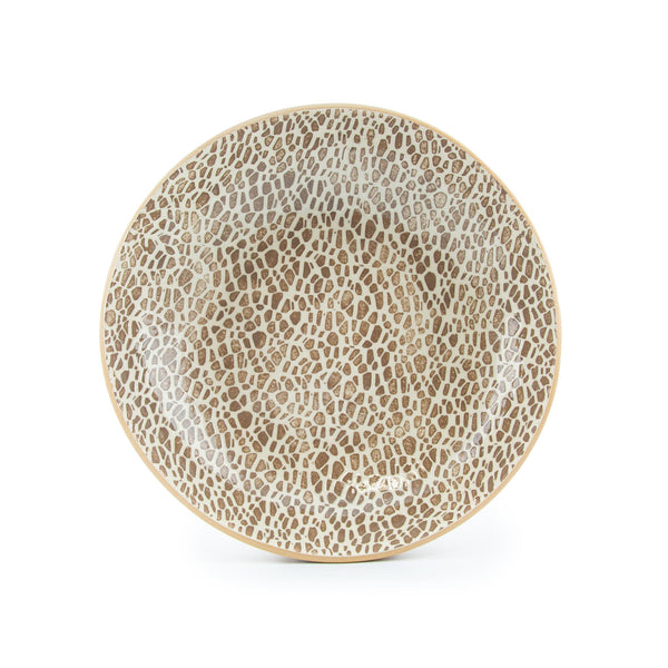 Terrafirma Ceramics Pebble Mocha Serving Bowl - Medium