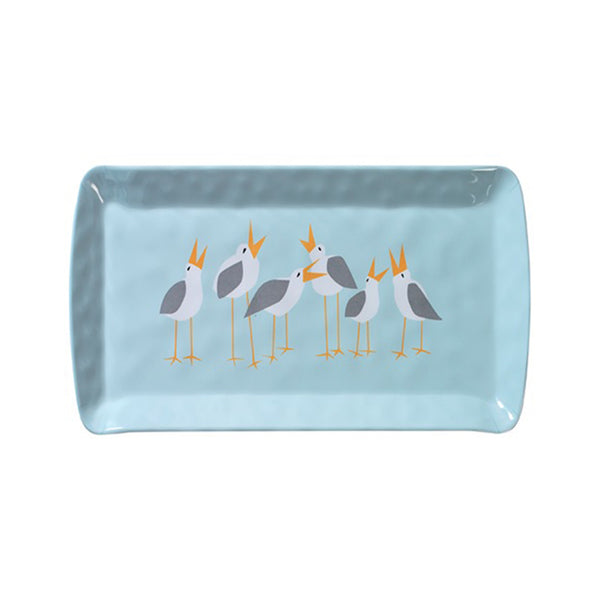 Kate Nelligan Seagulls Melamine Loaf Tray