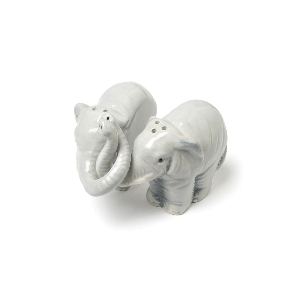 Hugging Elephants Salt & Pepper Set