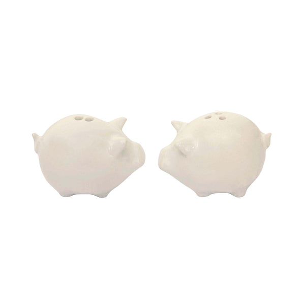 Stoneware Salt & Pepper Set - Pigs