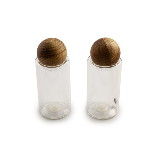 Nature Salt & Pepper Shaker Set
