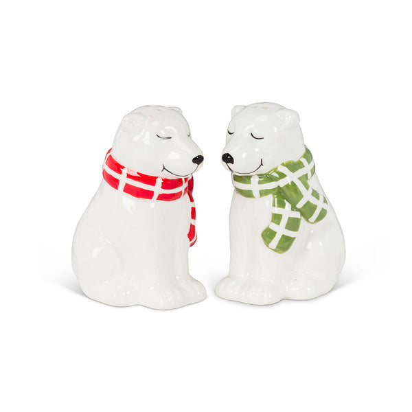 Polar Bears Salt & Pepper Set