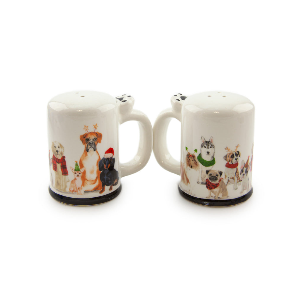 Dog-Gone Salt and Pepper Shaker Set