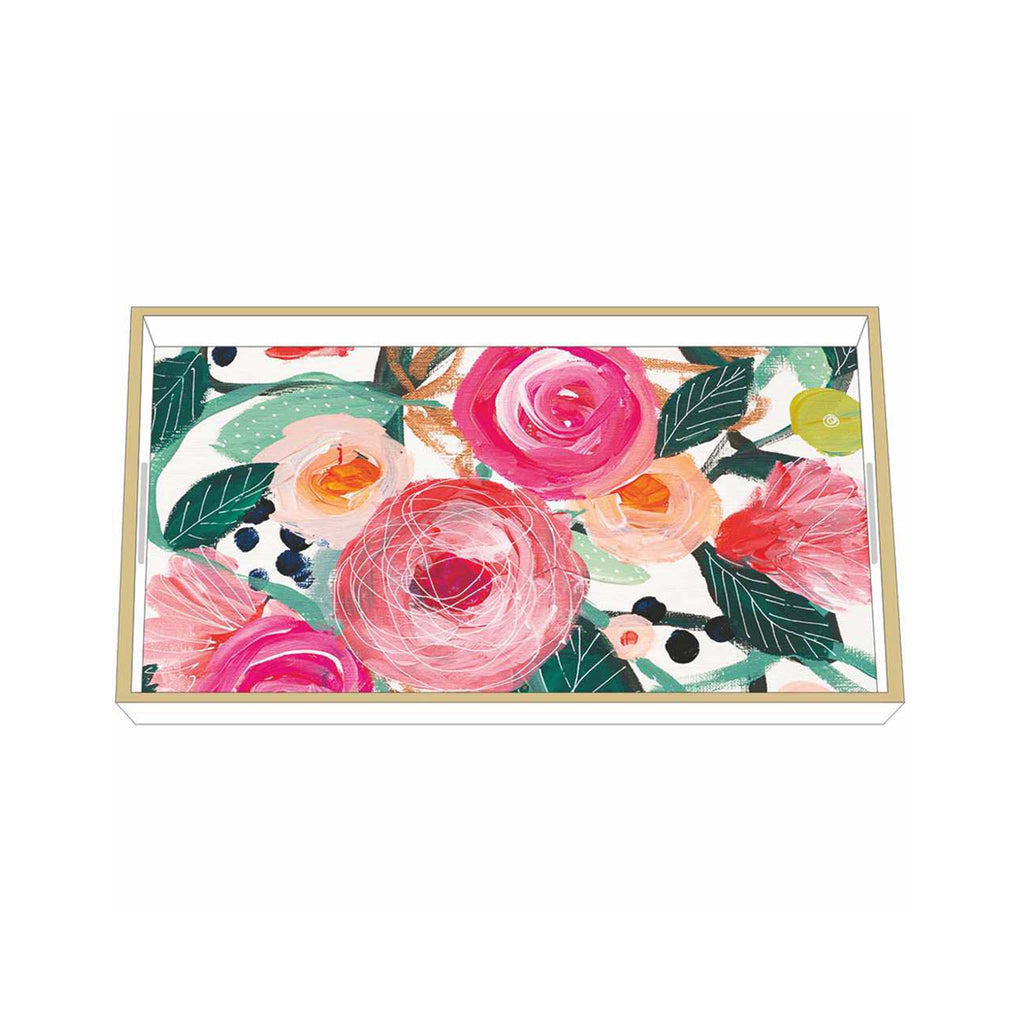 Rosalinda Wooden Accent Tray